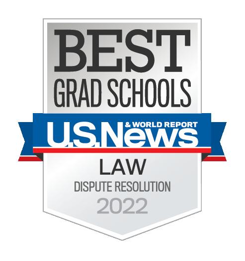 US News Dispute Resolution Ranking