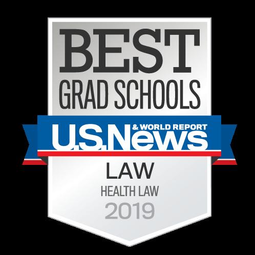 US News Health Law Ranking
