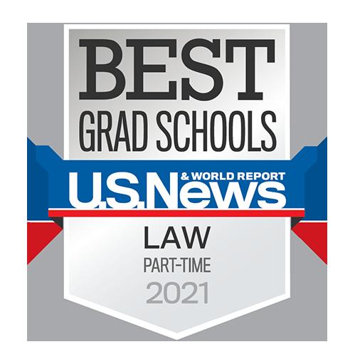 Part-Time Program US News ranking badge