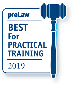 preLaw Ranking: Best for practical training