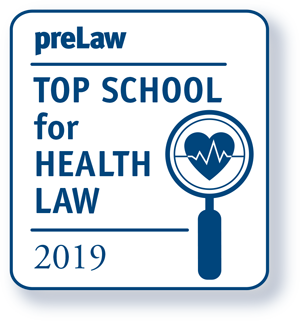 preLaw Top School for Health Law 2019