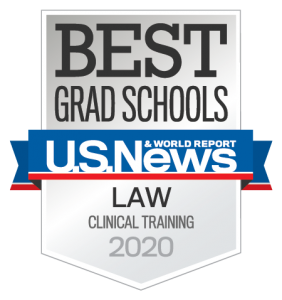 US News, Best Grad Schools, Law, Clinical Training