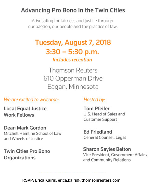 Advancing Pro Bono in the Twin Cities – Career and