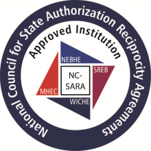 Seal of the National Council for State Authorization Reciprocity Agreements