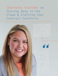 Read Charlotte Tschider's latest article in C-Level Magazine