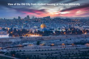 View of Old City from Student Housing