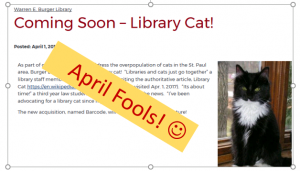 April Fools Pic