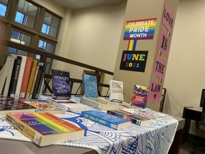 Pride Month Book Display