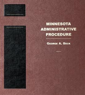 Cover of Minnesota Administrative Procedure book