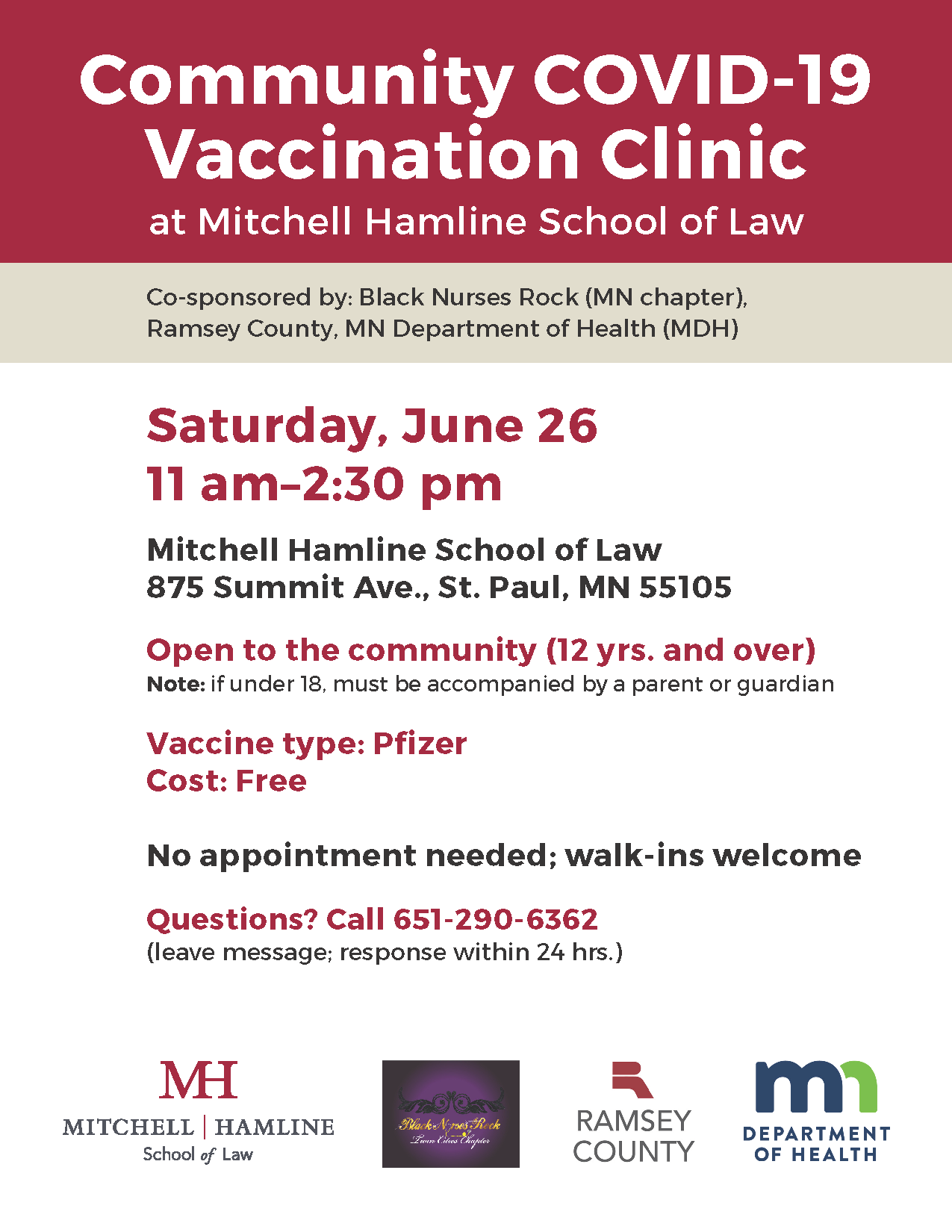 Vaccination Clinic Poster